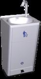 Mobiles Handwaschbecken mit hoher Wasserflussmenge