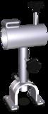 Tilting rotating ham holder