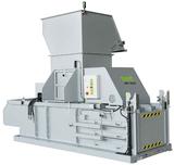 60 SLS...halbautomatische Press-Anlage mit 60 t Presskraft für eine wirtschaftliche Volumenreduzierung