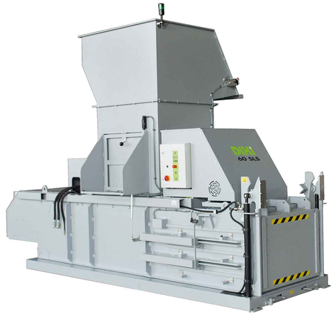 60 SLS... semi-automatic press system with 60 tons of force for economical volume reduction