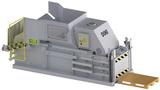 60 SLD... halbautomatische Press-Anlage mit 60 t Presskraft für eine wirtschaftliche Volumenreduzierung