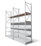 Racking Units by Gondella - Integrated with Gondola and Wall shelving