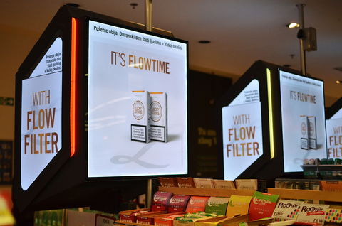 Tobacco in store solutions