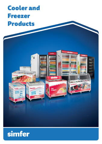 2019 Simfer Cooler and Freezer Catalogue