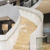 LED handrail lighting at Nash Hotel, Meyrin