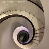Steel stairs at Armani, Vienna