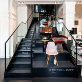"""Steel stairs at """"AmbienteDirect"""", Munich"""