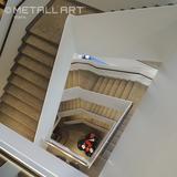 Geradläufige Stahltreppe bei Eckerle, Stuttgart