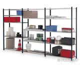 Prospace tubular painted/galvanised shelves h2000