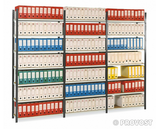 Prospace+ galvanised archive shelving