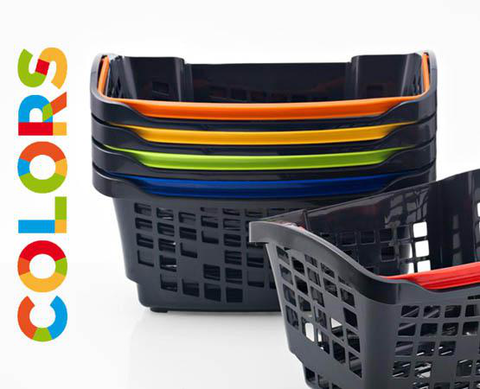 20 L. Hand Baskets COLORS