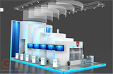 Two storey exhibition stands