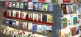 Books gondola