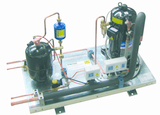Refrigerating gas: R448A, R449A, R452A R404A, R134a GP_C - compressor receiver units with scroll compressor