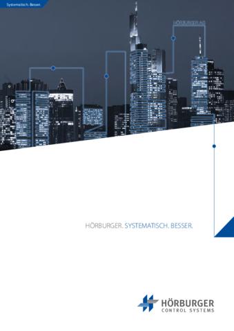 Hörburger: Broschüre Unternehmen