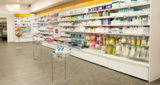 EXHIBITION SOLUTIONS DESTINED TO THE CHEMISTS' AND HEALTH AND BEAUTY STORES