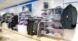 EXHIBITION SOLUTIONS DESTINED TO THE CLOTHING SPECIALTY STORES