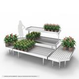 Set Flowered Gondola