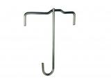 Panel ceiling hook for profile 20 mm zinc