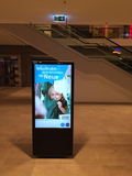 kompas im Einsatz: Digital Signage in der Shopping Mall