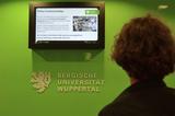 kompas im Einsatz: Digital Signage an der Universität Wuppertal