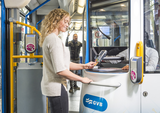 Novus POS Solutions at the tram Amsterdam