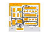 Customer traffic patterns with SensFloor Activity