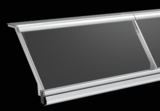 Angled Frozen Display Cabinets