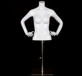 Half body female mannequin