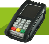Verifone vX820 Protective Glove with Anti-Tamper Switch Technology