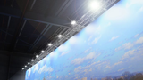 ExpoLed stands for innovative and exclusive LED lighting for stand construction