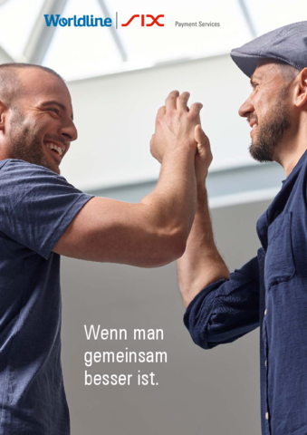 Worldline SIX Payment Services Broschüre