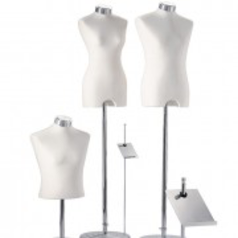 Windows - collection of mannequins and torsos