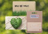 Umweltfreundliche Karten & Verpackung