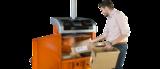 Orwak Compact 3110 cardboard infeed
