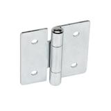 GN 136 Sheet metal hinges