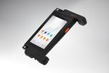 Modularer Handheld M2Smart mit geöffneten Blindkappen