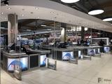 Ladenbau Zystem Kassenboxen