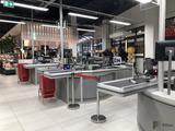Ladenbau Zystem Kassenzone