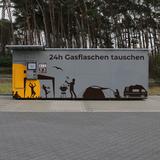 Gasflaschen tauschen mit dem GasflaschenTauschAutomat von insensiv