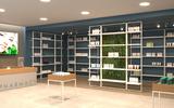 Frame for pharmacies