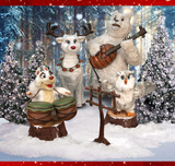 winter forest band creation group