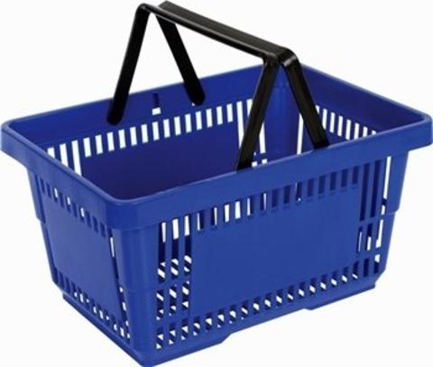 22L Hand Market Basket (Dual Handle)
