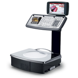 """GPE SERIES """"MK"""" RETAIL COUNTER SCALES WITH MECHANICAL KEYBOARD AND COLOR DISPLAY 7"""""""