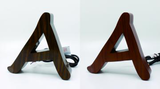 Timber-Look Stainless Steel Letters (NEW)