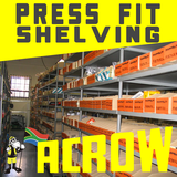Press Fit Shelving