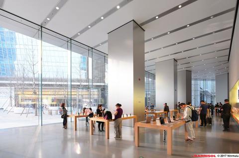 Apple Store Beijing Barrisol