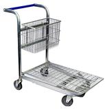 Flat Deck Shopping Trolley