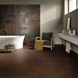 Ceramiche Piemme Materia Floor Rust 120x120 cm Wall Jade 60x60 cm Shimmer 60X120cm
