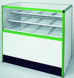 Sales counters SU5, glass showcases